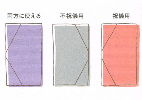 ふくさの色について